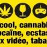 drogue et jeux vidéos miniature