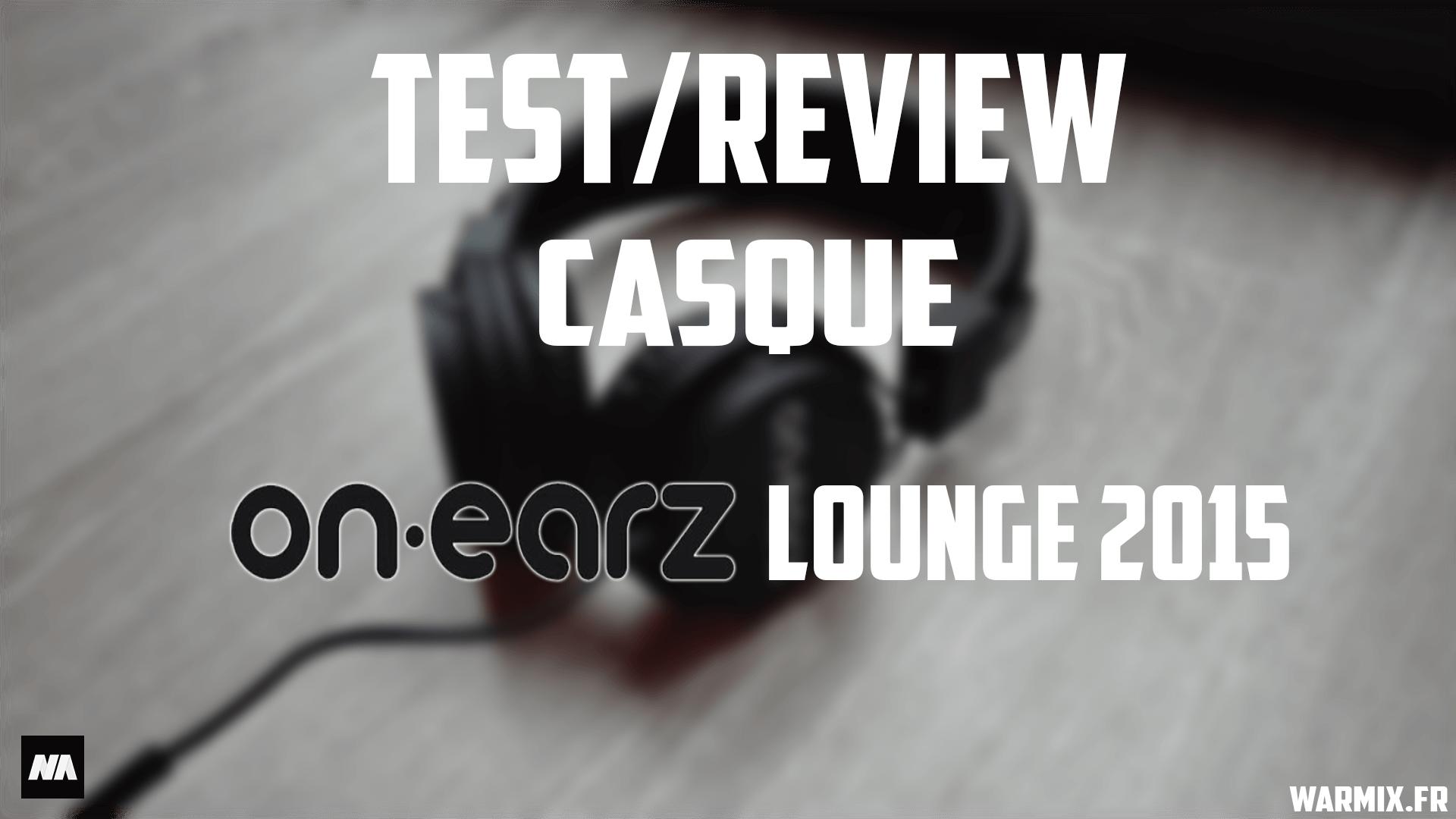 test On earz lounge 2015 minia