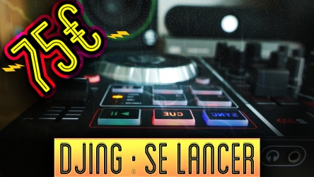DJ : Test d'une table de mixage à moins de 100 € ! Découvrez la Numark Party Mix !
