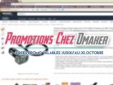 Des promotions chez Omaker !