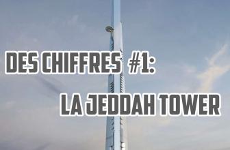 La tour Jeddah Tower en chiffres! Des chiffres #1