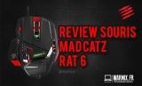 Test & review : Mad Catz RAT 6, une magnifique souris gamer !