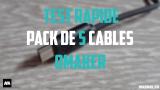Test rapide : Pack de câbles Omaker micro-USB à moins de 8€