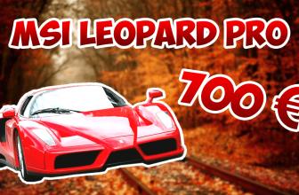 PC PORTABLE GAMER MSI LEOPARD PRO GP62 6QE ! MON AVIS !