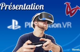 Un nouveau casque de réalité virtuelle : la PlayStation VR !