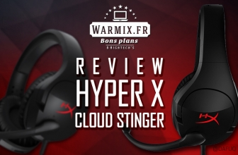 Review du casque HYPER X Cloud Stinger