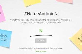 Google a besoin de vous pour nommer Android N !