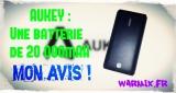 REVIEW : Batterie Aukey de 20 000mAh : PB-N15