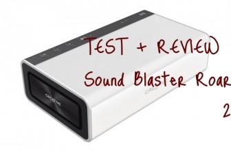 [REVIEW + TEST] Enceinte Bluetooth Sound Blaster Roar 2