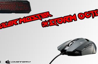 Test & Review du pack clavier souris Cooler master CM Storm Octane !