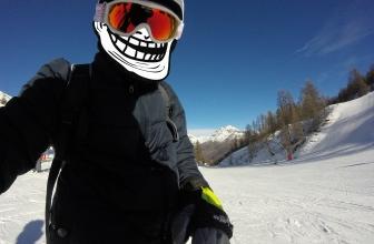 Mes vacances à la neige! GO PRO HERO 2015
