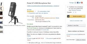 Amazon micro rode nt-usb
