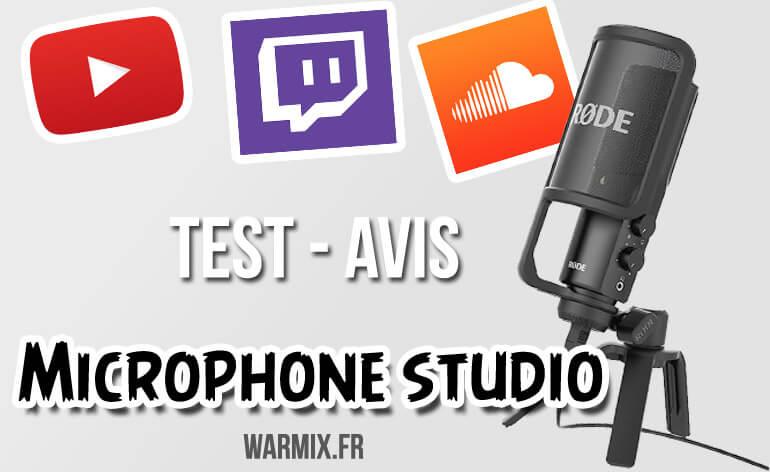 Unboxing, test et avis du micro studio pour Youtuber: Rode NT-USB