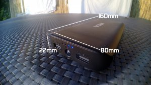 avis test review unboxing Batterie portable VTIN 20000mAh
