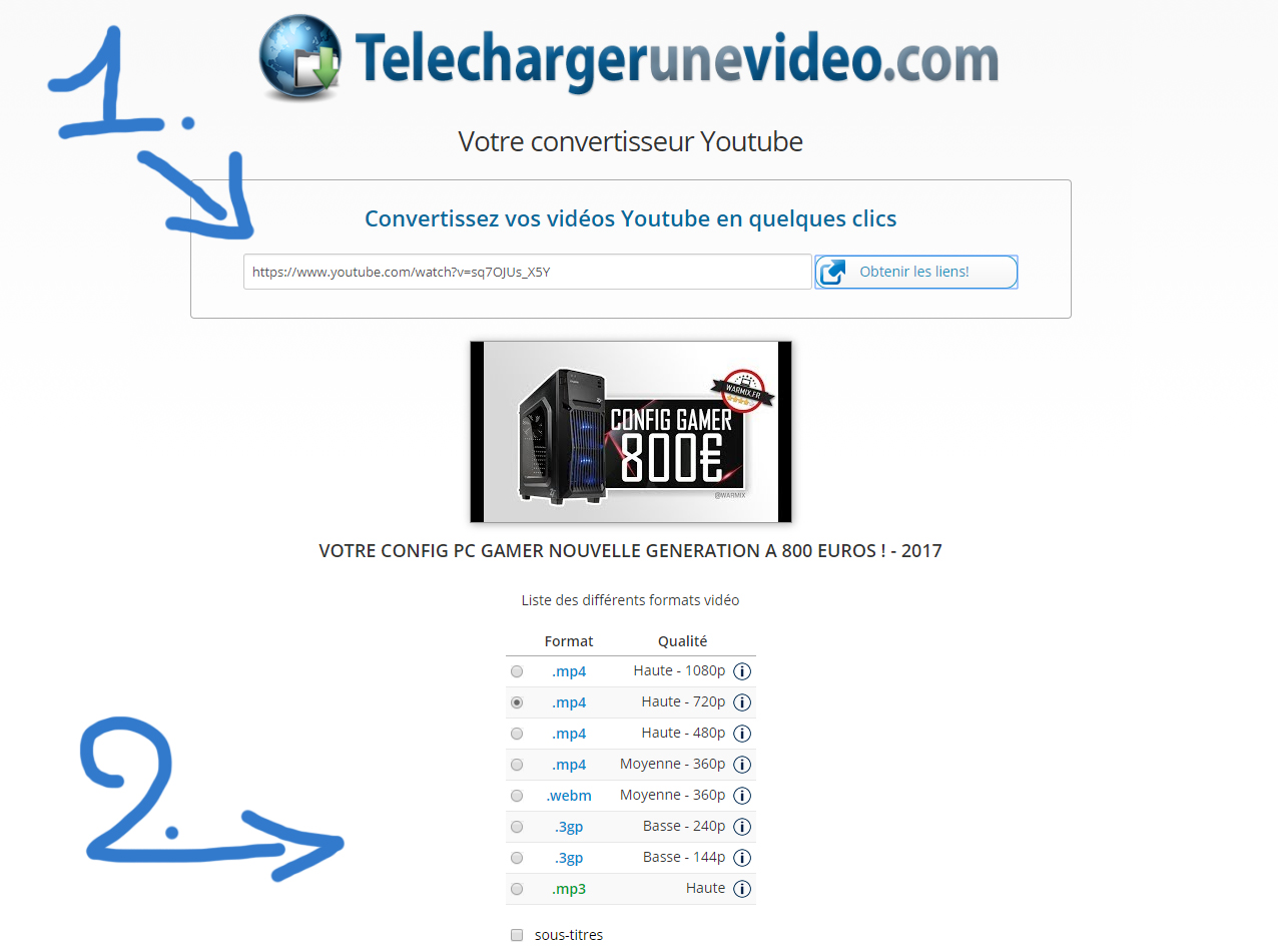 comment telecharger mp3 video youtube